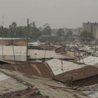 Over the roofs of Mathare