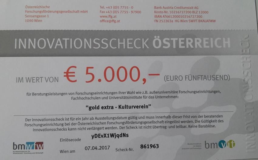Innovationsscheck
